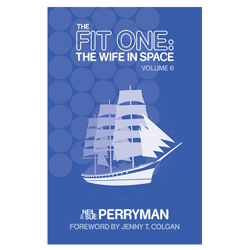 The Fit One: The Wife in Space Vol. 6 limited edition paperback + USB Card